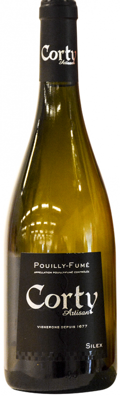 Pouilly-Fume Corty Artisan Silex 2014 Patrice Moreux fra Loire, Frankrig