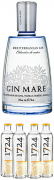 Gin Mare gavesæt m/ 4 fl. 1724 Tonic Water