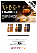 Irsk Whiskey smagning d. 12 september